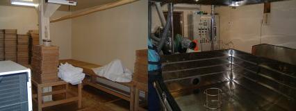 開運(かいうん)土井酒造場さんの麹室
