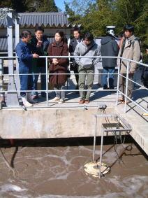 開運(かいうん)土井酒造場さんの浄化槽
