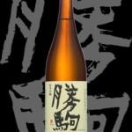 勝駒(かちこま)「純米吟醸」