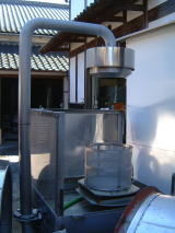 開運(かいうん)土井酒造場洗米機
