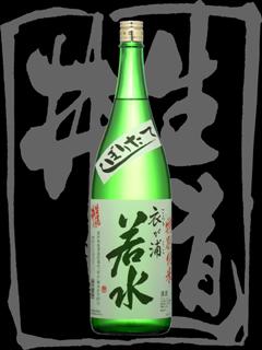 生道井(いくじい)「特別純米」衣が浦若水しぼりたて