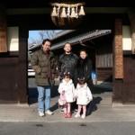 小左衛門(こざえもん)-中島醸造蔵見学-記念撮影