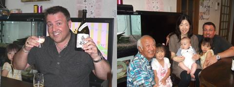車坂「純米大吟醸」全国新酒鑑評会出品酒をビル先生と飲む