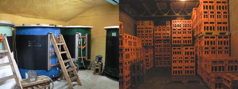 御代桜醸造さん仕込みタンク、貯蔵庫