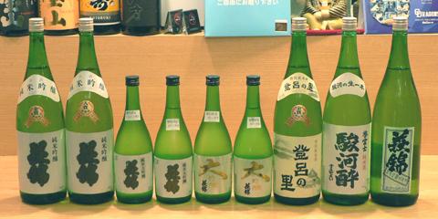 萩錦を楽しむ会出品酒