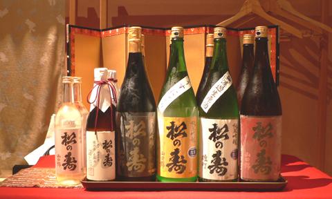 松の寿を楽しむ会出品酒