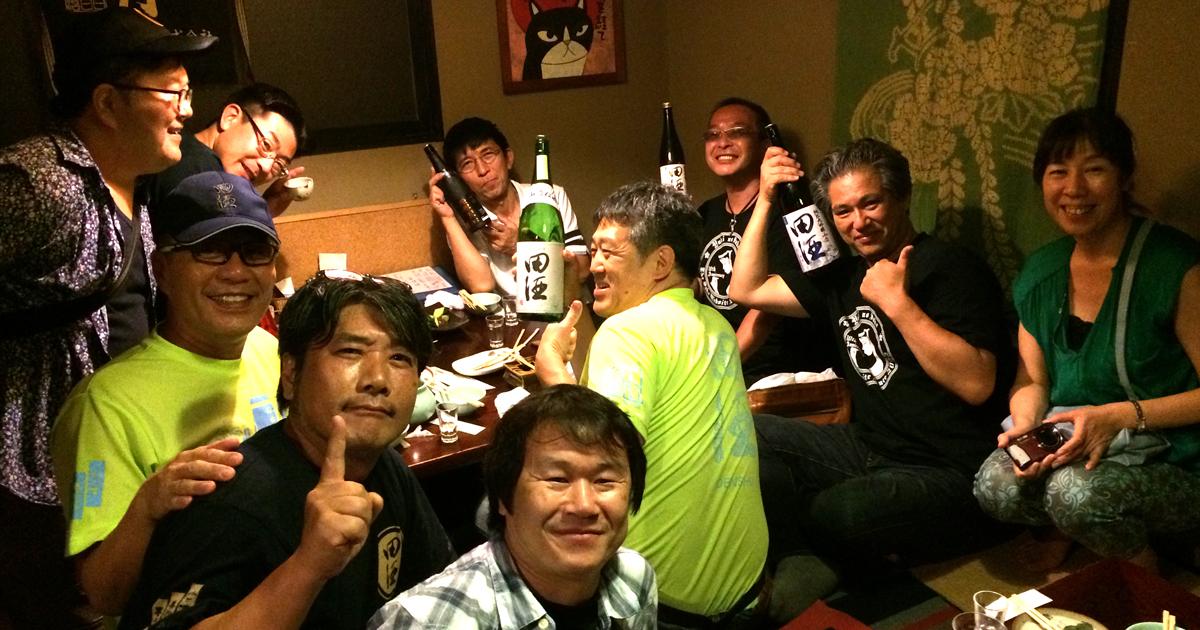 田酒(でんしゅ)を楽しむ会in岡山二次会