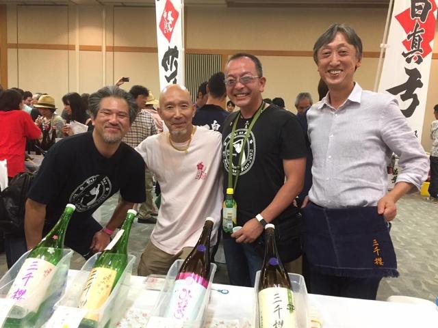 岐阜の地酒に酔う2017三千桜